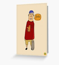 Skate Greeting Card