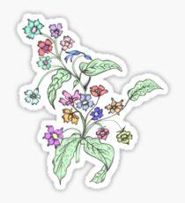 Doodle Bouquet Sticker