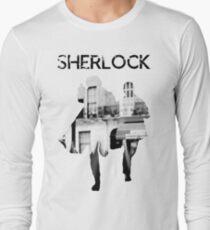 Monochrome Street Sherlock Long Sleeve T-Shirt