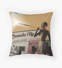 Angola - Salao de beleza Africa Throw Pillow