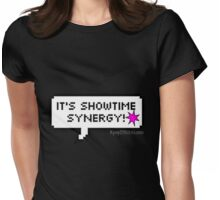 It's showtime Synergy! Jem & The Holograms Womens Fitted T-Shirt