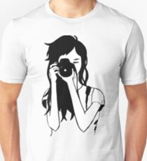 Photographer Girl Unisex T-Shirt