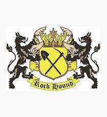 Rockhound Coat of Arms Photographic Print