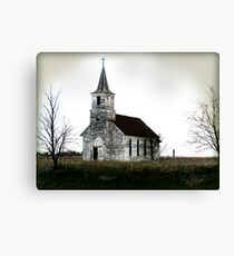 Nebraska Church Canvas Print