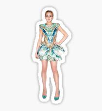Lohan in McQueen Sticker