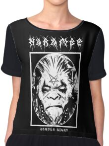 Black Metal Harambe Chiffon Top