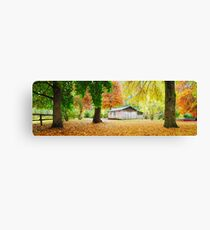 Pickerings Hut, Howqua Hills, Victoria, Australia Canvas Print