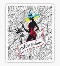 Mary Jane 2 Sticker