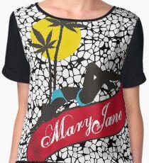Mary Jane 4 Women's Chiffon Top