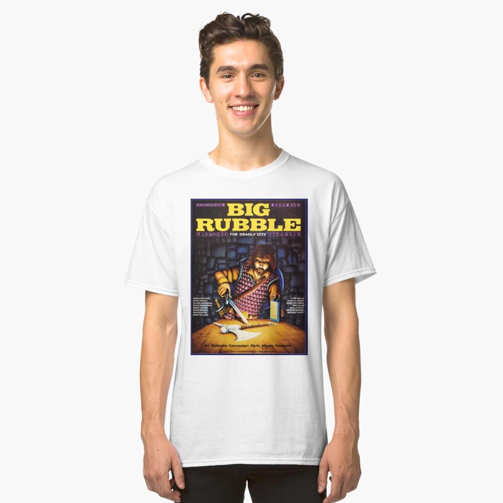 Gran cubierta de escombros Camiseta clásica