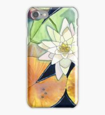 White Waterlily iPhone Case/Skin