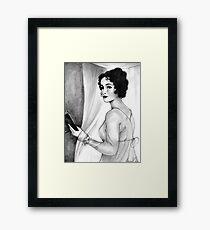 Lizzy Bennet Framed Print