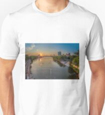 The Charles River near Boston University. Unisex T-Shirt