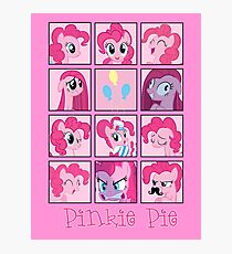 Faces of Pinkie Pie Photographic Print