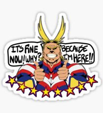 All Might is here!! Sticker