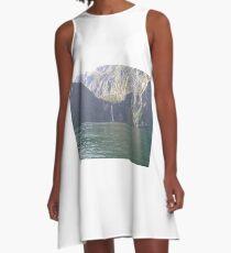 Milford Sound< New Zealand A-Line Dress