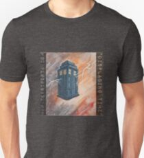 """Displacing Time"", the Tardis Unisex T-Shirt"
