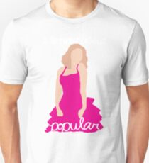 """""""I Know About Popular"""" Galinda, Wicked T-Shirt"""