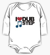 I LOVE DUBSTEP (LIGHT)  One Piece - Long Sleeve