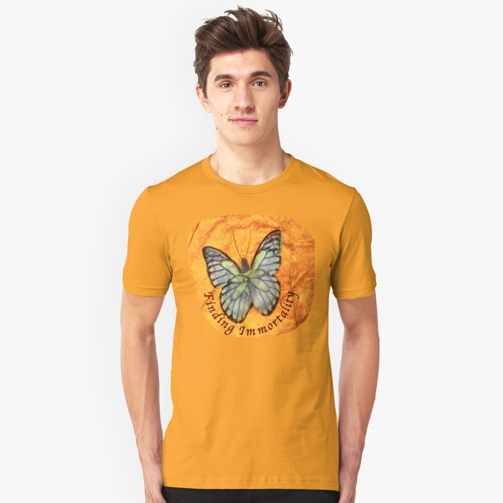 Finding Immortality.   Unisex T-Shirt Front