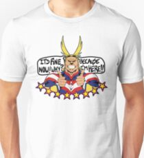 All Might is here!! Unisex T-Shirt