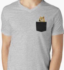 Doge  Men's V-Neck T-Shirt