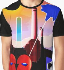 PINK FLOYD ECLIPSED BATTERSEA Graphic T-Shirt