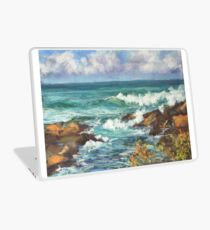 View from Kenny Walk at Nobby Head Laptop Skin