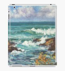 View from Kenny Walk at Nobby Head iPad Case/Skin