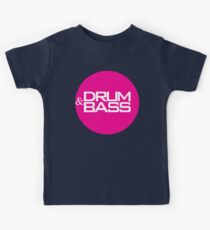 Drum & Bass  Kids Tee
