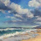 Lake Cathie beach - clouds by Terri Maddock