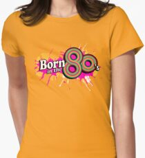 Born in the 80's ladies multi-pink logo graphic T-Shirt