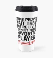 My Favorite Player Travel Mug
