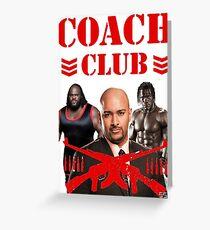 SSW Coach Club  Greeting Card