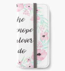 be the leslie knope of whatever you do  iPhone Wallet/Case/Skin