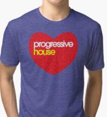 Progressive House Music Tri-blend T-Shirt