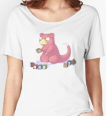Pokemon Slowpoke Women's Relaxed Fit T-Shirt