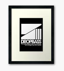 DropBass Logo (New) Framed Print
