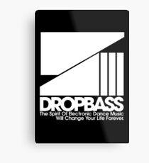 DropBass Logo (New) Metal Print