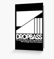 DropBass Logo (New) Greeting Card