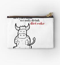 In Cyberland We Only Drink Diet Coke Studio Pouch