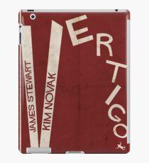 Vertigo - Poster minimalista, Alfred Hitchcock - James Stewart, Kim Novak, póster de pelicula, cartel retro, ilustración Vinilo o funda para iPad