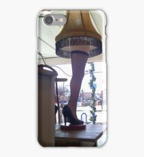 Leg Lamp iPhone Case/Skin