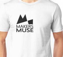 Alternative Makers Muse Brand Simple Black Unisex T-Shirt