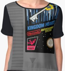 Kingdom Hearts NES Cartridge Chiffon Top