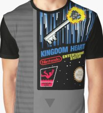 Kingdom Hearts NES Cartridge Graphic T-Shirt