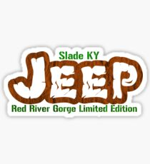 Slade Jeep RRG Sticker