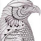 River Eagle by Christianne Gerstner