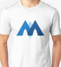 Mountains, Trees & Water T-Shirt