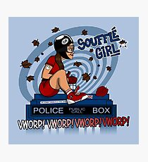 Souffle Girl Photographic Print